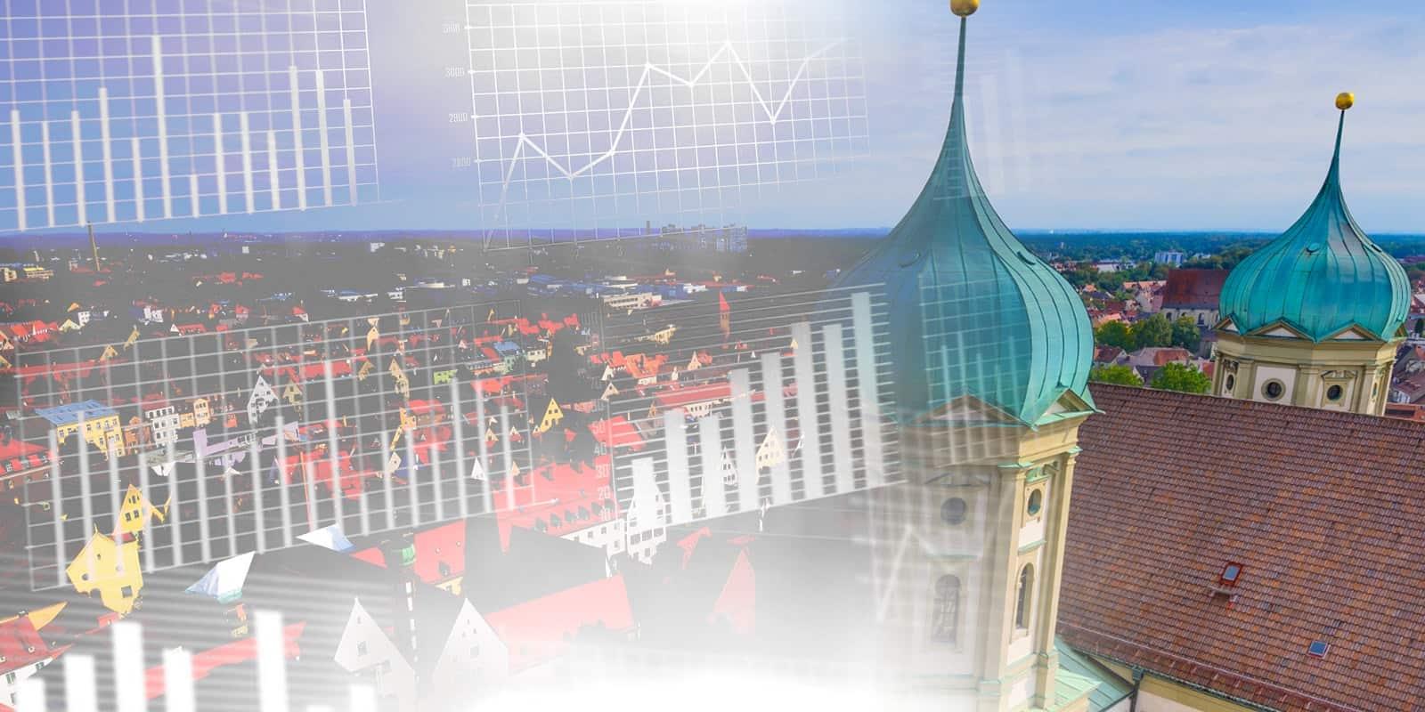 Augsburger Immobilienpreise ziehen kräftig an